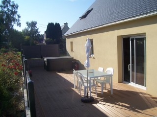 location maison TREGLAMUS 6 pieces, 128m2